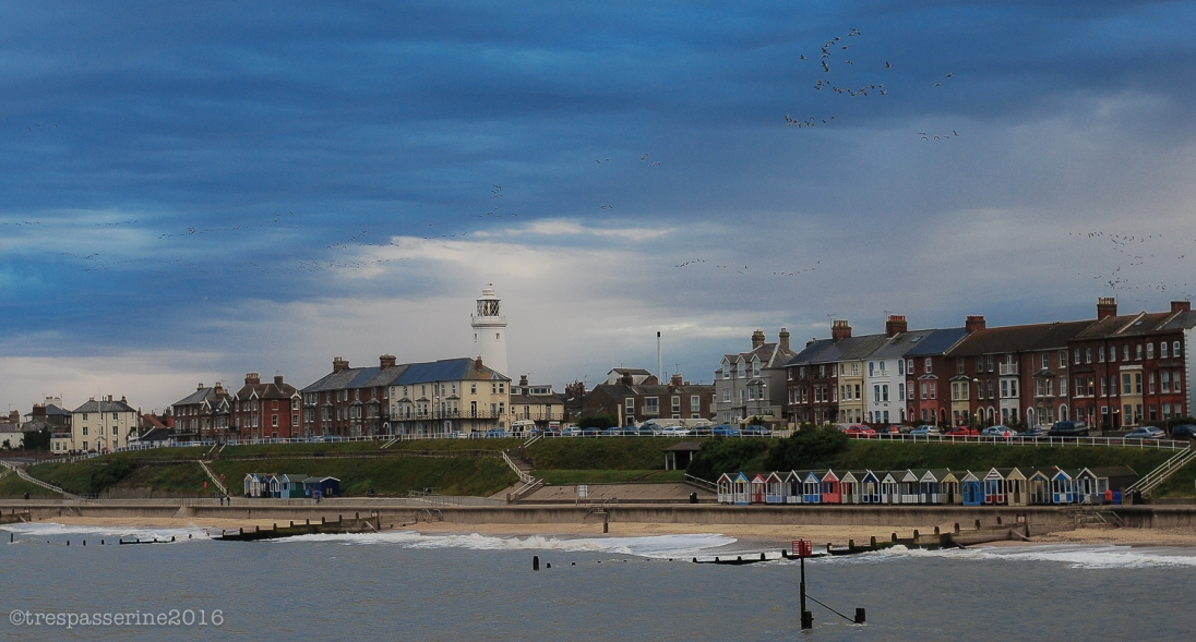 A seaside town. Where else but Britain?