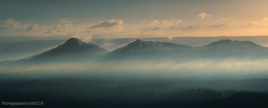 Three Lonesome Peaks